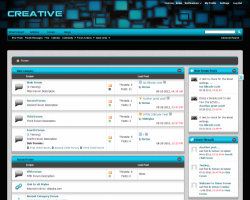 Creative Cyan 4.x vBulletin Theme