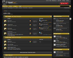 GoldFox 4.x vBulletin Theme
