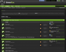 GreenFox 4.x vBulletin Theme