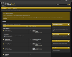 GoldFox 5.x vBulletin Template