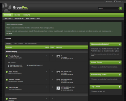 GreenFox 5.x vBulletin Template