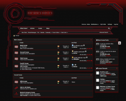 RoboRed vBulletin 4.x Template